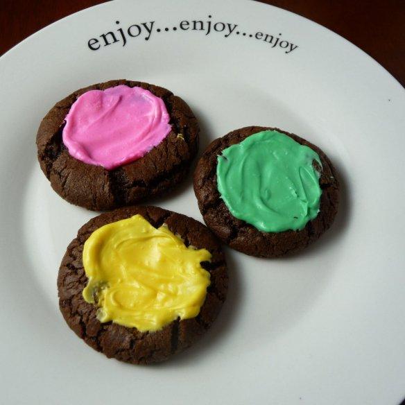 mint chocolate creams