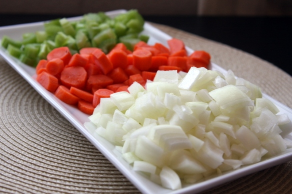 Mirepoix.  I love saying that.