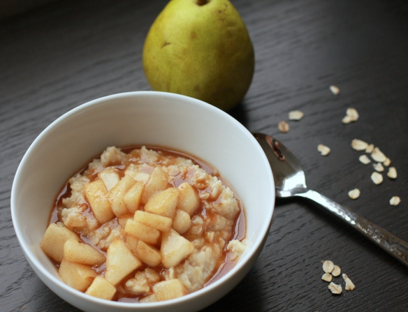maple pear oats