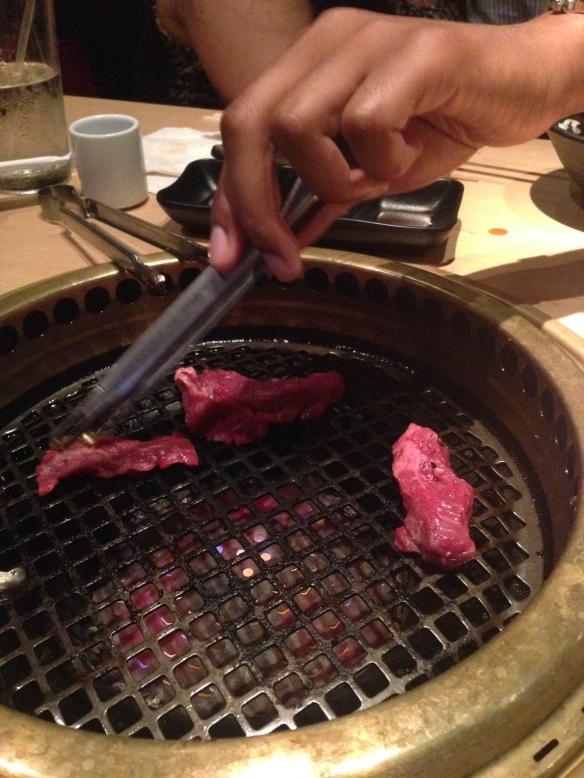 grillin meat