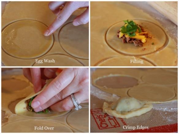 empanada collage